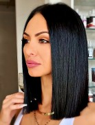 pure brazilian shoulder length