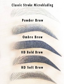 Types of Microblade & Powder Brows